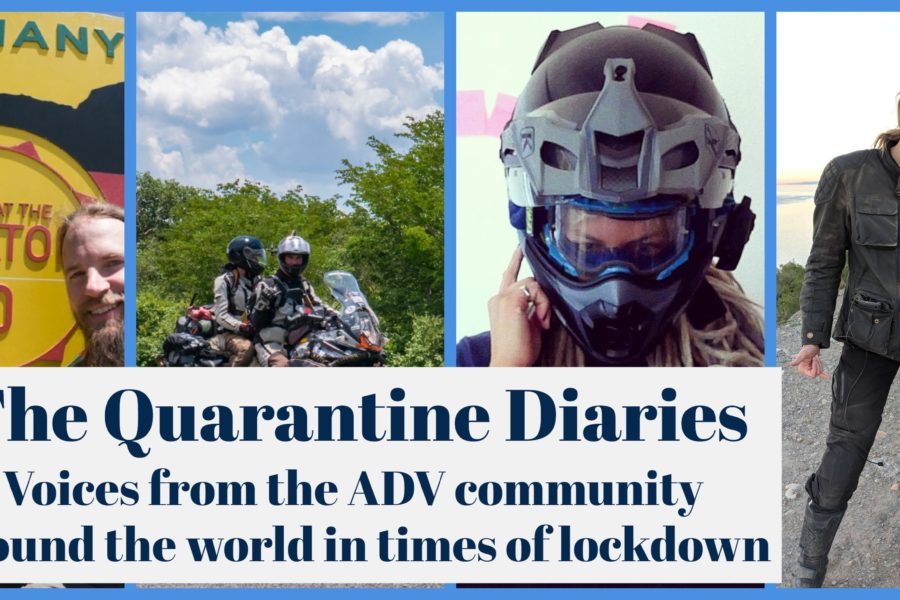 The Quarantine Diaries: Stranded Riders Connecting Online