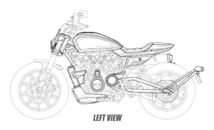 Left Harley flat track