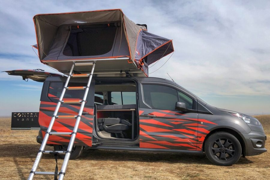 Just the thing for camping at the track. Photo: Contravan