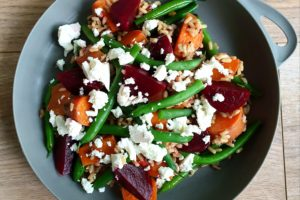 Green Bean and Sweet Potato Salad Photo @Kylie Day