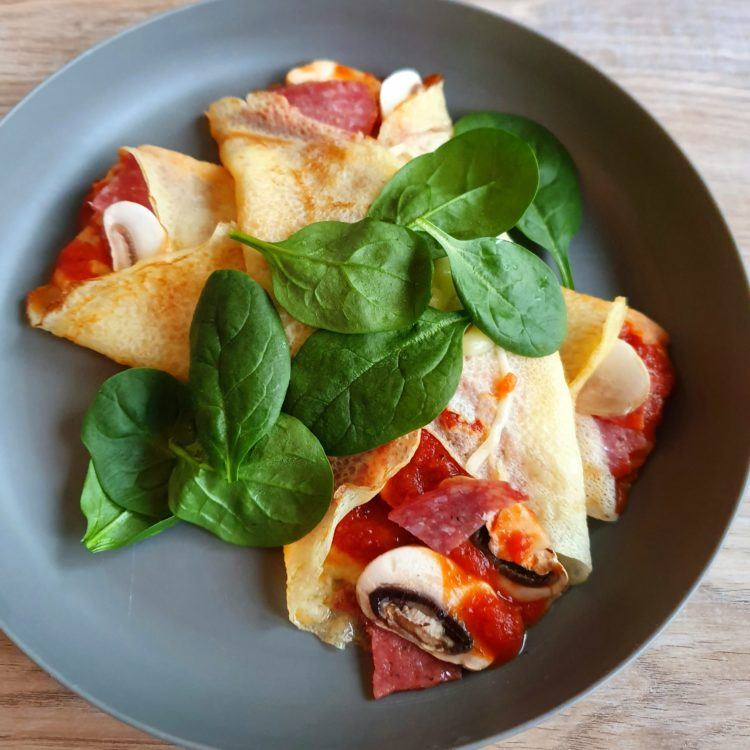Pizza Style Crepes Photo @ Kylie Day