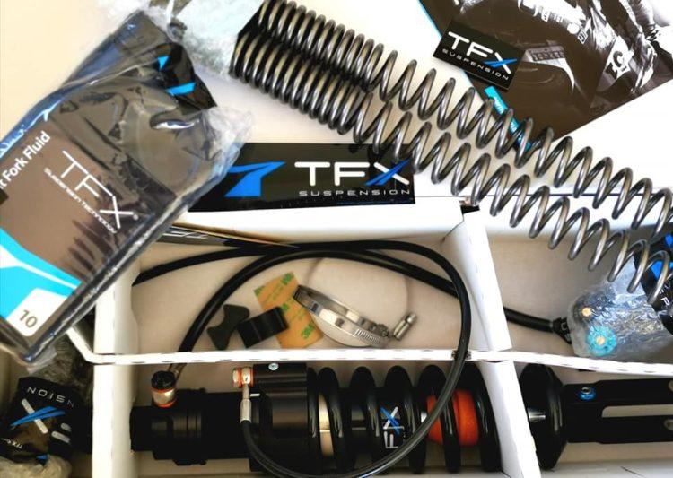 Suzuki DR650 Suspension Upgrade: TFX SuspensionTechnology