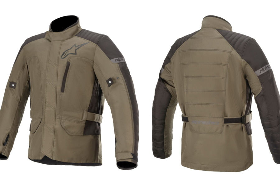 The new Gravity Drystars jacket comes with waterproofing built-in. Photo: Alpinestars