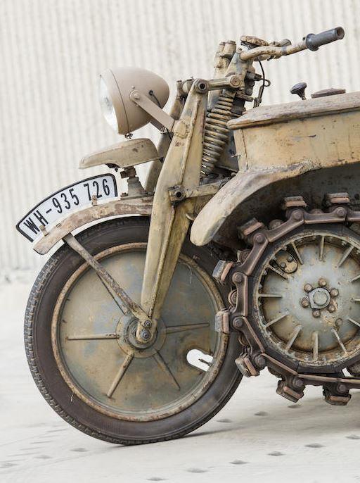 Kettenkrad front wheel