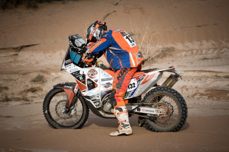 Joey Evans: Strategy for Dakar, Strategy for Life ADV Rider