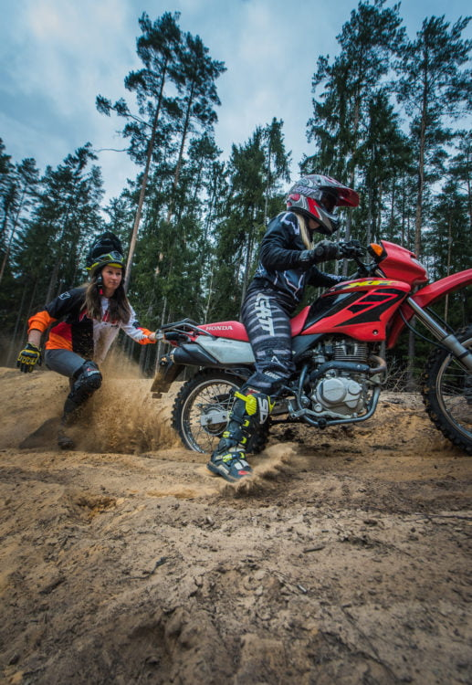 women off-road riders