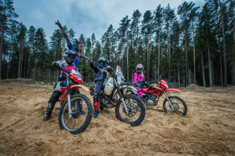 off-road motorcycles for women