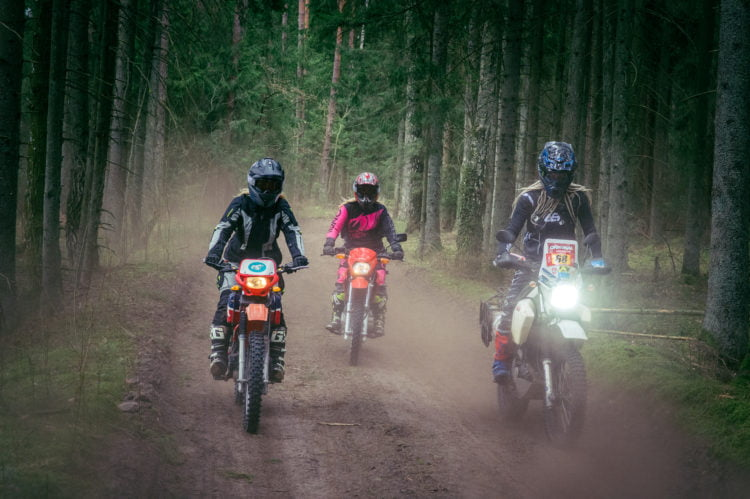 off-road motorcycles for women ADV Rider