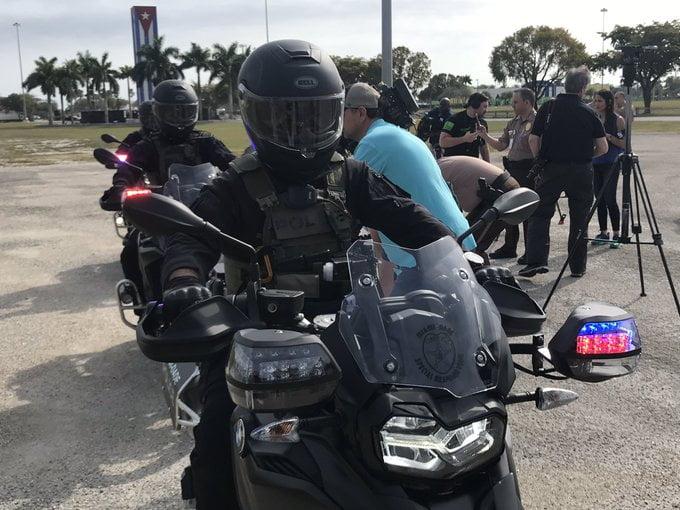 Miami-Dade SRT police tactical