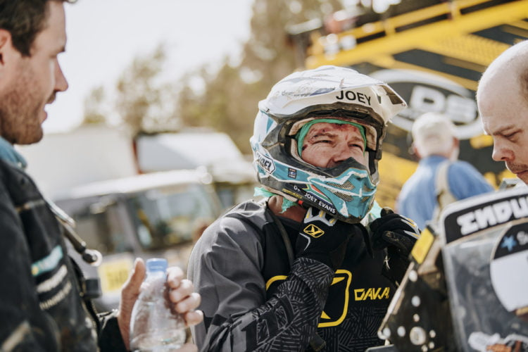 Joey Evans: Pain, Gain, and the Road from Para to Dakar ADV Rider
