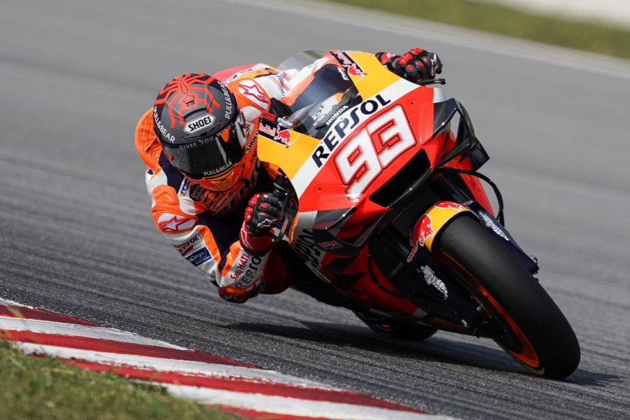 Marc Marquez and the rest of MotoGP won't be racing for several weeks yet. Photo: Facebook
