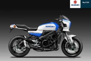 Suzuki GS 1000 S rendering