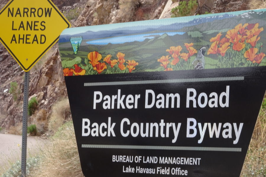 Scenic Byway signposting is comprehensive.