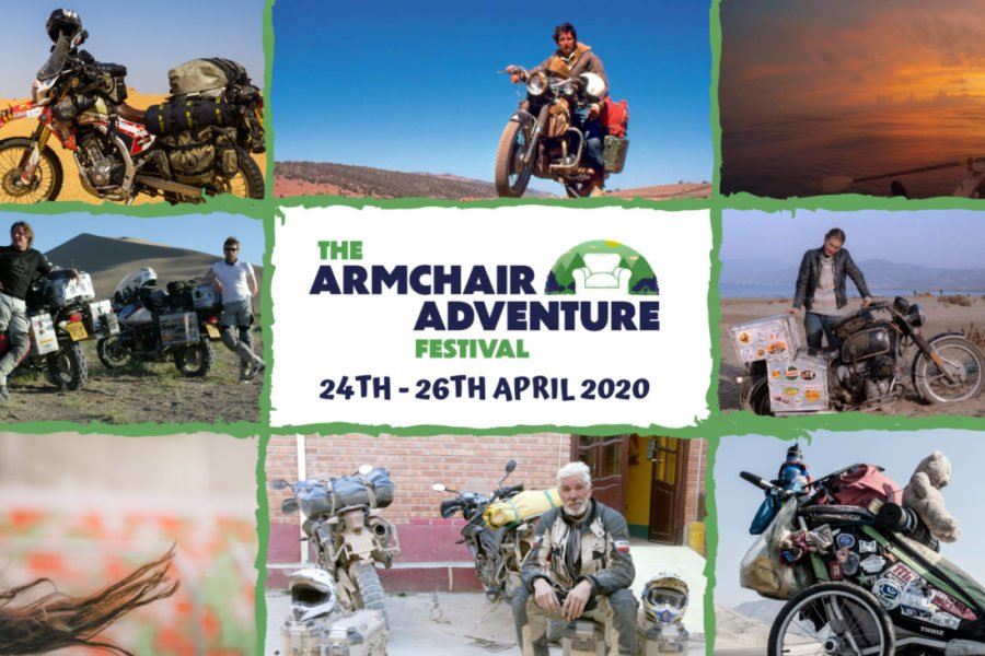 Attend an overland festival from the comfort of your home! Photo: Armchair Adventure Festival