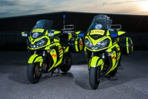 Blood Bikers are now stepping in to fight COVID-19. Photo: Devon Freewheelers