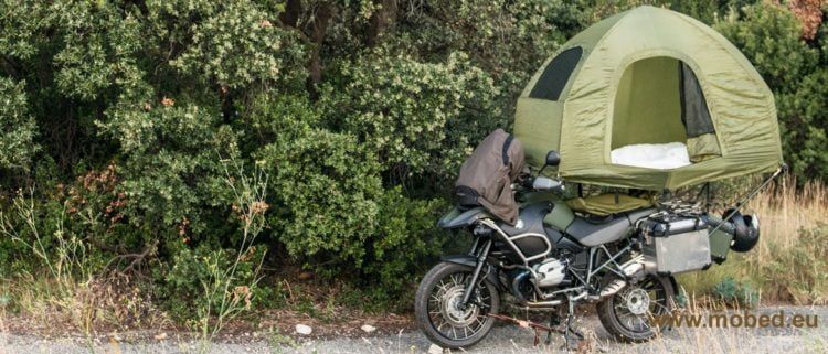 mobed motorcycle tent farkles