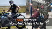 Baldy's Interview with Mosko Moto's Peter & Ashley