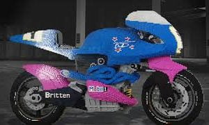 The Brickman Life Size Britten V-1000:  Built With Legos