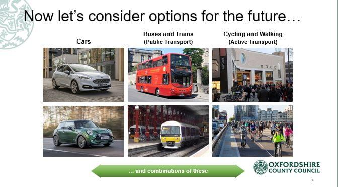 Options Oxfordshire