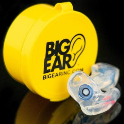 Big ear motorcycle earplugs