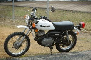 A rareish '70s minibike. Photo: BringATrailer