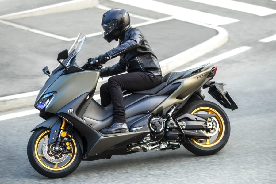 You'd think Yamaha would want to build an ADV version of the TMAX, to compete with Honda, but that's not the case for now. Photo: Yamaha