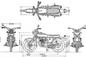 moto dimensions capacities