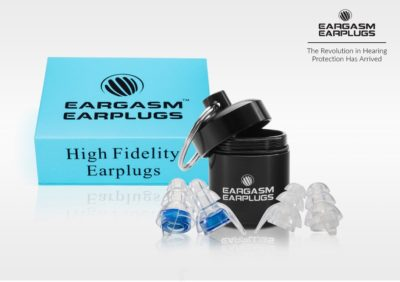 Eargasm ear plugs for motorcycles