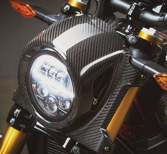 headlight FTR 1200 Carbon