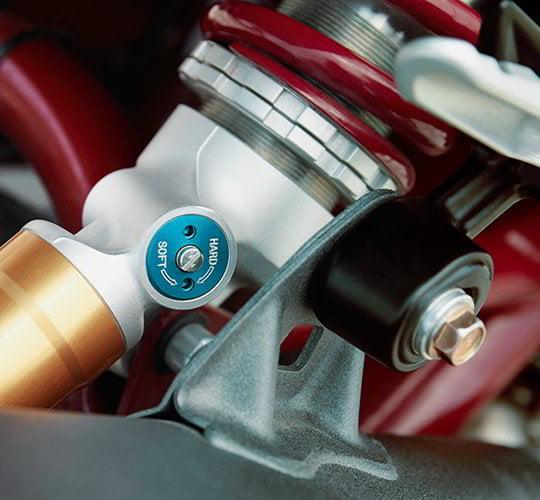 Rear shock FTR carbon