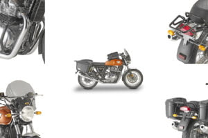 Kappa shows off new touring accessories for Royal Enfield Interceptor 650