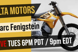 Interview with Alta Motors Co-Founder Marc Fenigstein TODAY