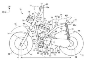 Honda patent application mini monkey