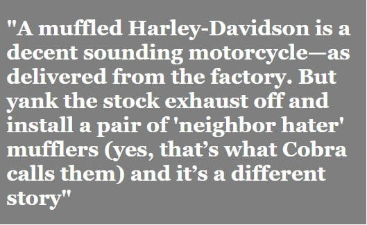 Ad for Harley-Davidson