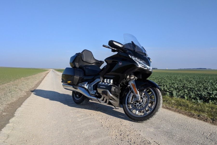 Even when I recently rode the massive Honda Gold Wing to Milan I made sure to carry a chain and lock.