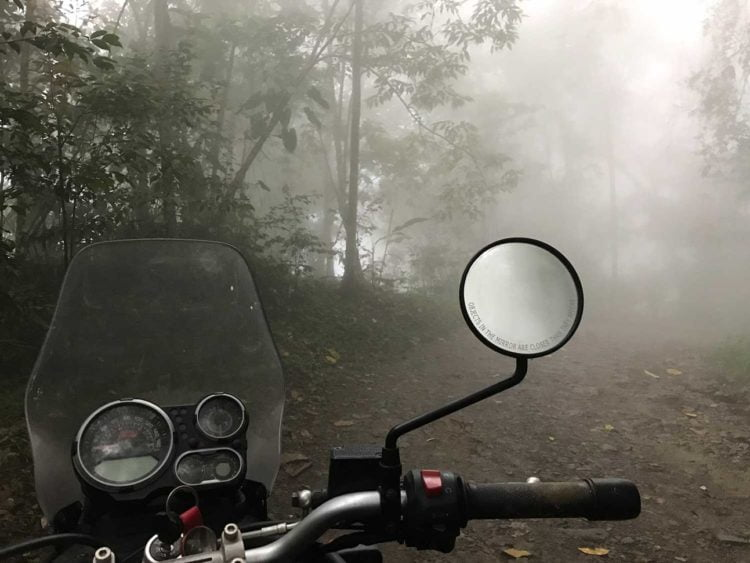 The misty roads nearing El Dorado in the Sierra Nevada de Santa Marta. -Janelle Kaz