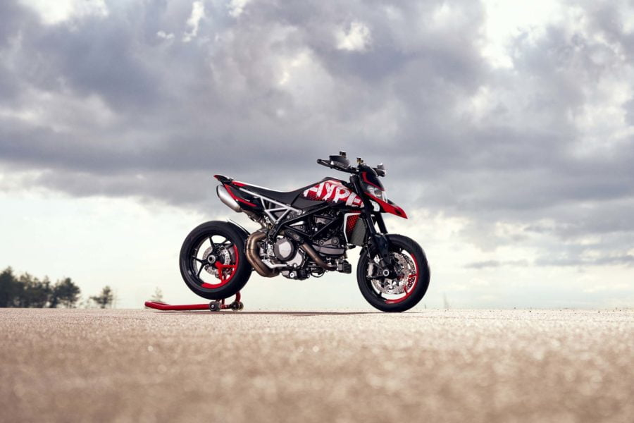 Wheelies are brewing. Photo: Ducati