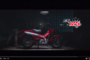"It's ""Time To Trail"" the Honda CT125"