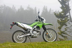 Kawasaki's all-new KLX230. Photo: Laura Deschenes