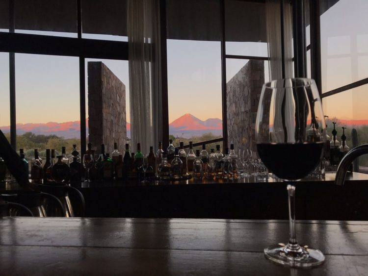 View from the lodge at Tierra Atacama Hotel. -Janelle Kaz