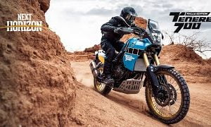 The Yamaha Tenere 700 Rally arrives, with adventure-ready farkles