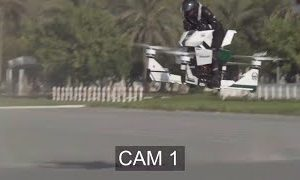 "Hoversurf Scorpion ""Hoverbike"" Crashes During Testing"