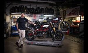 Roland Sands Design teams up with Indian for new FTR race-style parts