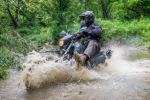If you know you need to stop the action of someone riding through a stream, you'll need at least 1/500th of a second to do that.