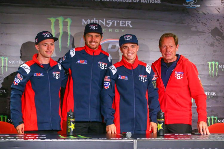 2019 motocross des nations team