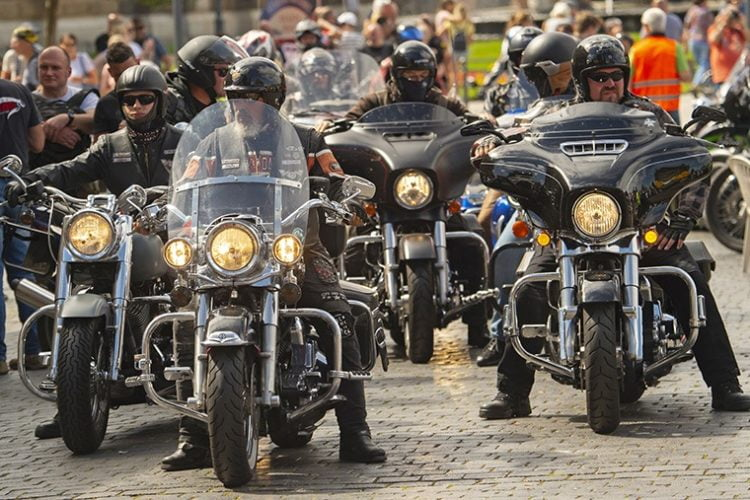 Germany protest motorcycle noise