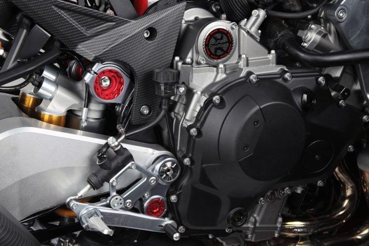 Bimota Kawasaki H2 engine