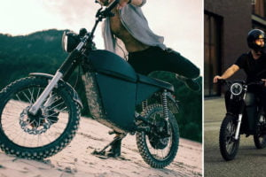 The Moped looks like a modern-day KE100. Photo: Black Tea