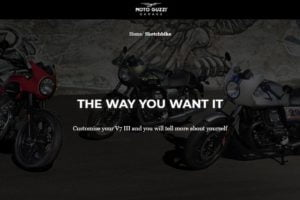 Moto Guzzi Sketch Bike; Design Your Own Bike