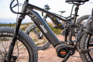 The New Jeep Electric Mountain Bicycle